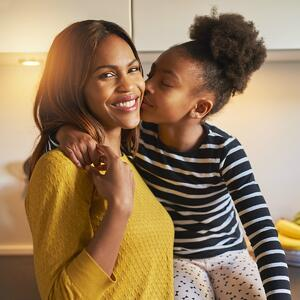 Mother and daughter protected by a Critical Illness insurance policy